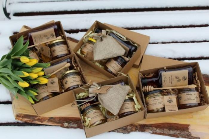 Box prezentowy - produkty lokalne z Pogórza