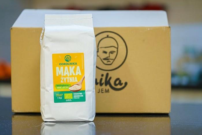 Mąka żytnia razowa typ 720 opakowanie 1kg ekologiczna