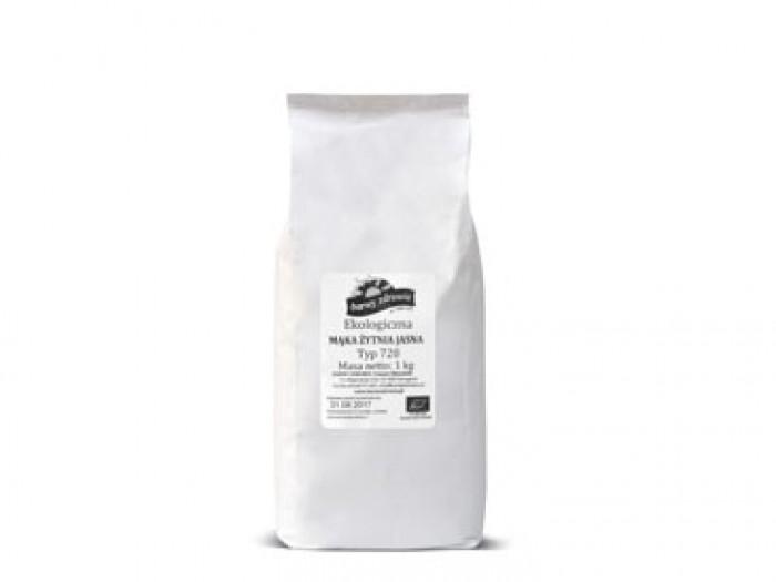 Mąka żytnia razowa TYP 2000 - opakowanie 1kg ekologiczna Barwy Zdrowia