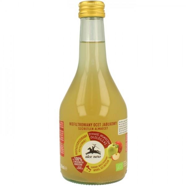 Ocet jabłkowy filtrowany bio 500 ml - ALCE NERO