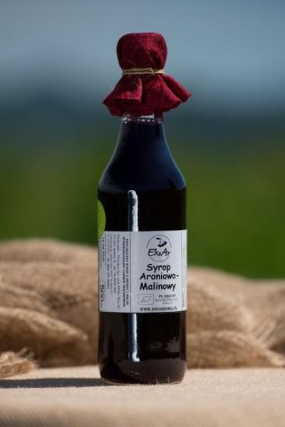 Syrop aroniowo- malinowy ekologiczny 250 ml