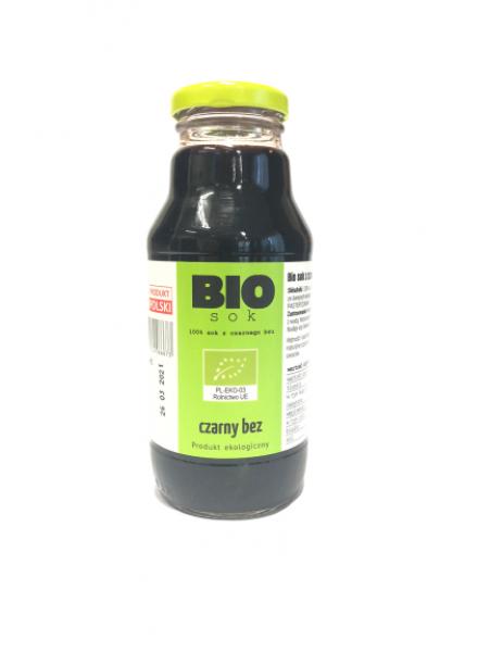 Sok z owoców czarnego bzu Bio 330ml