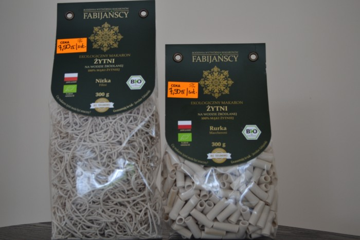Makaron żytni bio nitka Filini 300 g