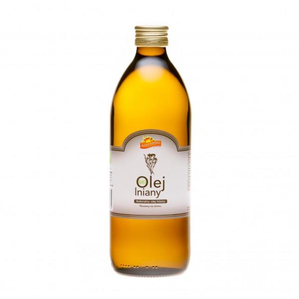 Olej lniany 0,5 l