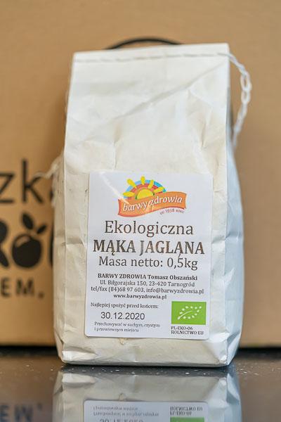 Mąka jaglana 0,5 kg eko Barwy Zdrowia