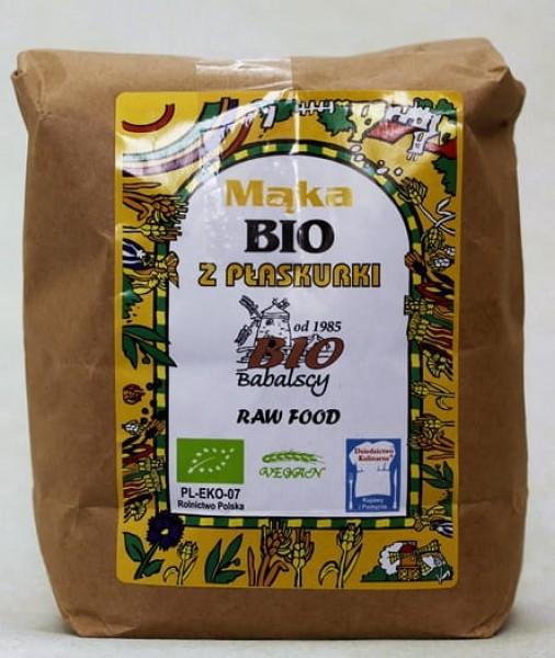 Mąka z płaskurki  BIO typ 1850 0,5 kg BIO Babalscy