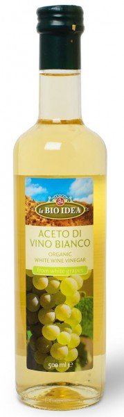 Ocet winny biały bio 500 ml - LA BIO IDEA