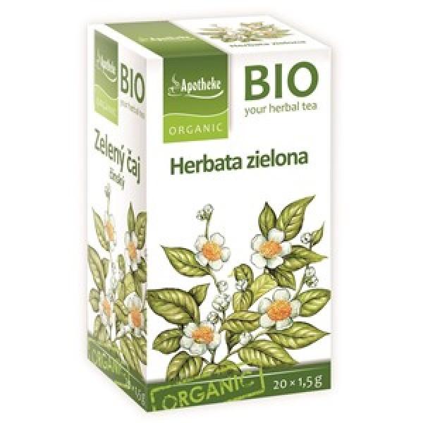 Herbata zielona chińska ekspresowa  bio 20 x 1,5 g Apotheke