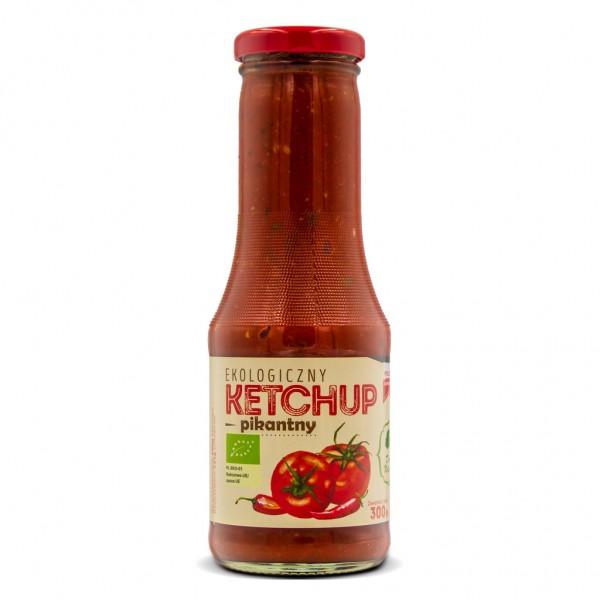 Ketchup pomidorowy pikantny Eko 300 g DARY NATURY