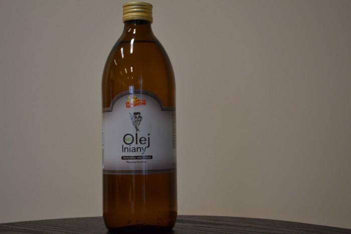 Ekologiczny olej lniany 0,5 l