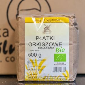 Płatki orkiszowe ekologiczne 500 g