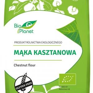 Mąka kasztanowa bezglutenowa bio 400 g BIO PLANET