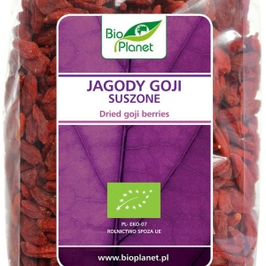 Jagody Goji suszone bio 250 g BIO PLANET