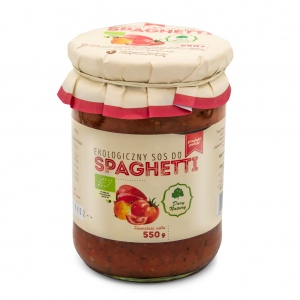 Sos do spaghetti eko 550g Dary Natury
