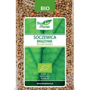 Soczewica brązowa bio 500 g - BIO PLANET