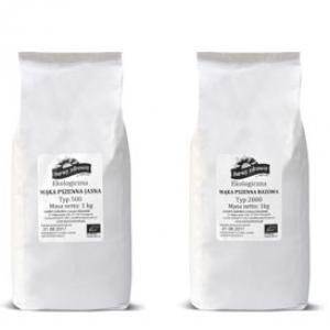 Ekologiczna mąka pszenna jasna typ 500 Barwy Zdrowia