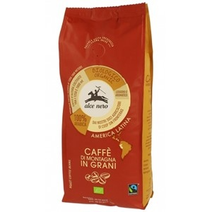 Kawa  100% ARABICA ZIARNISTA FAIR TRADE BIO 500g - ALCE NERO