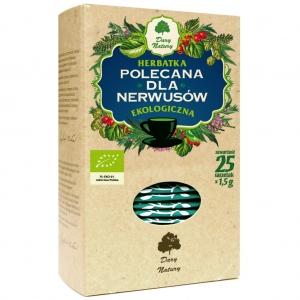 Herbatka dla nerwusów eko 25x1,5g Dary Natury