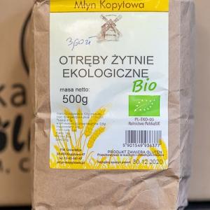 Otręby żytnie ekologiczne 500g