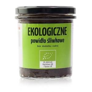 Ekologiczne powidło śiwkowe 340 g bez dodatku cukru - KAMIONNA