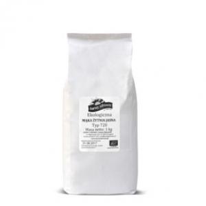 Mąka żytnia jasna typ 720 opakowanie 1kg ekologiczna