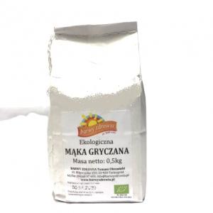 Mąka gryczana 0,5 kg eko Barwy Zdrowia