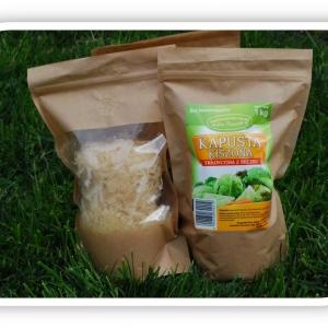 Kapusta kiszona tradycyjna z beczki 1 kilogram ekologiczna