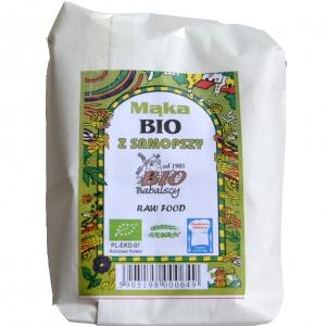 Mąka z samopszy BIO typ 1850 0,5 kg BIO Babalscy