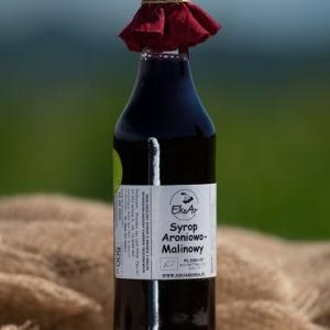 Syrop aroniowo- malinowy ekologiczny 500 ml