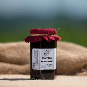 Bomba witaminowa  bio- niskosłodzony dżem z owoców aronii - 280g