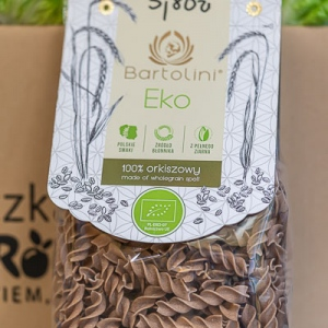 Makaron BartEko orkiszowy 250 g świderek