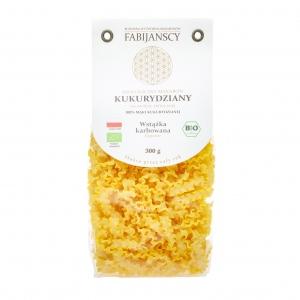 Makaron kukurydziany bio wstążka karbowana Reginette 300 g